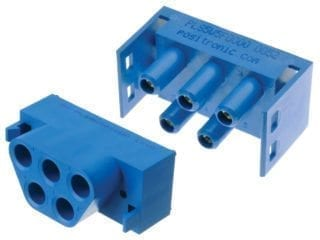 High current power connector - Positronic