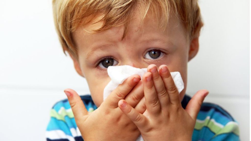 Cleaning the house in flu season
